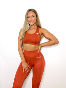 Freedom Sport Bra / Rust