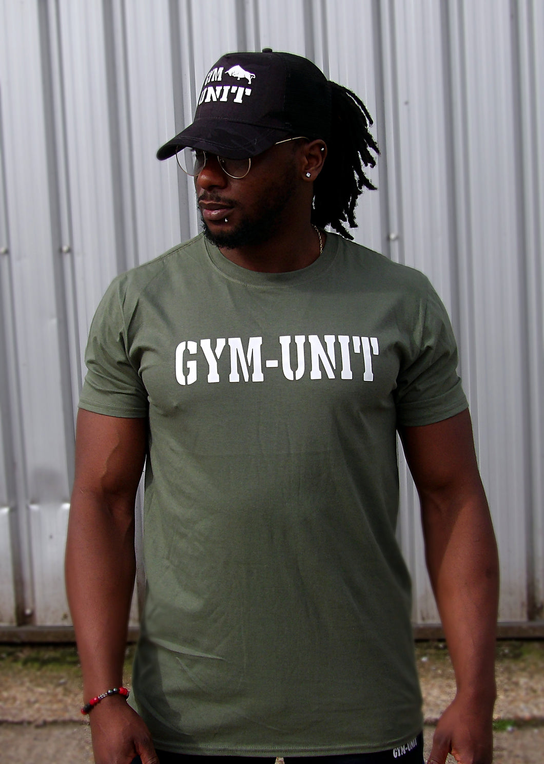 Muscle T-Shirt / Army Green