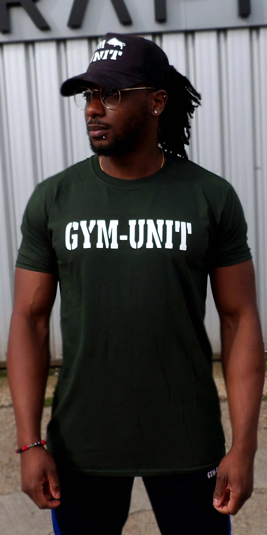 Muscle T-Shirt / Dark Green