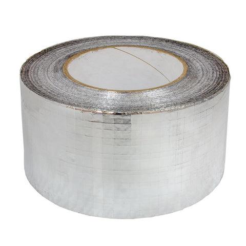 Silver X Weave Tape 75mm x 46m