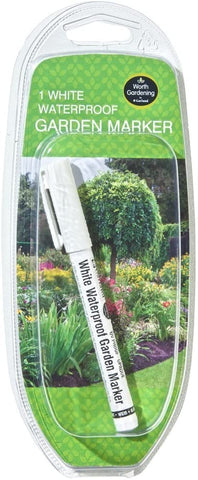 White Waterproof Garden Marker