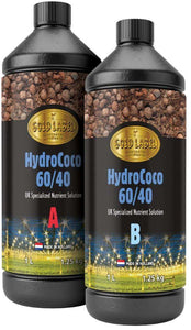 Specialised Nutrient Solution for 60/40 Mix Hydro/Coco (A+B) - Gold Label