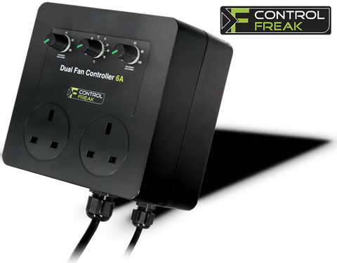 DUAL FAN CONTROLLER 4.5A - Control Freak