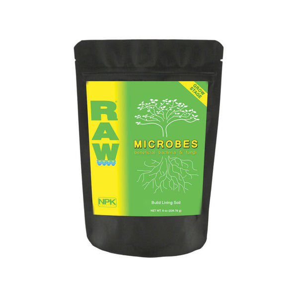 RAW Microbes Grow/Bloom