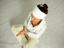 Load image into Gallery viewer, kundalini yoga wear handmade by icancuyoga organic