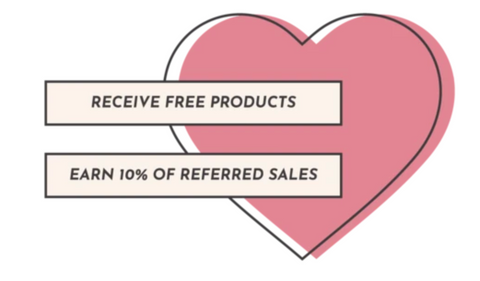 """Multitasky Ambassador program that reads """"ambassador to receive FREE products and earn 10% of referred sales"""""""