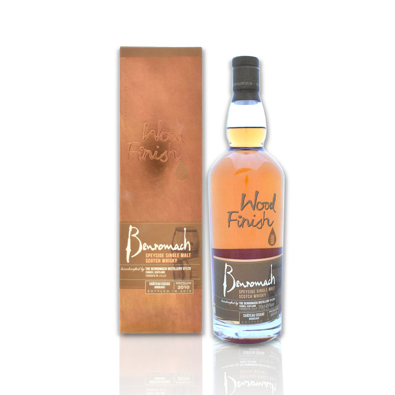 70cl bottle of Benromach Chateau Cissac