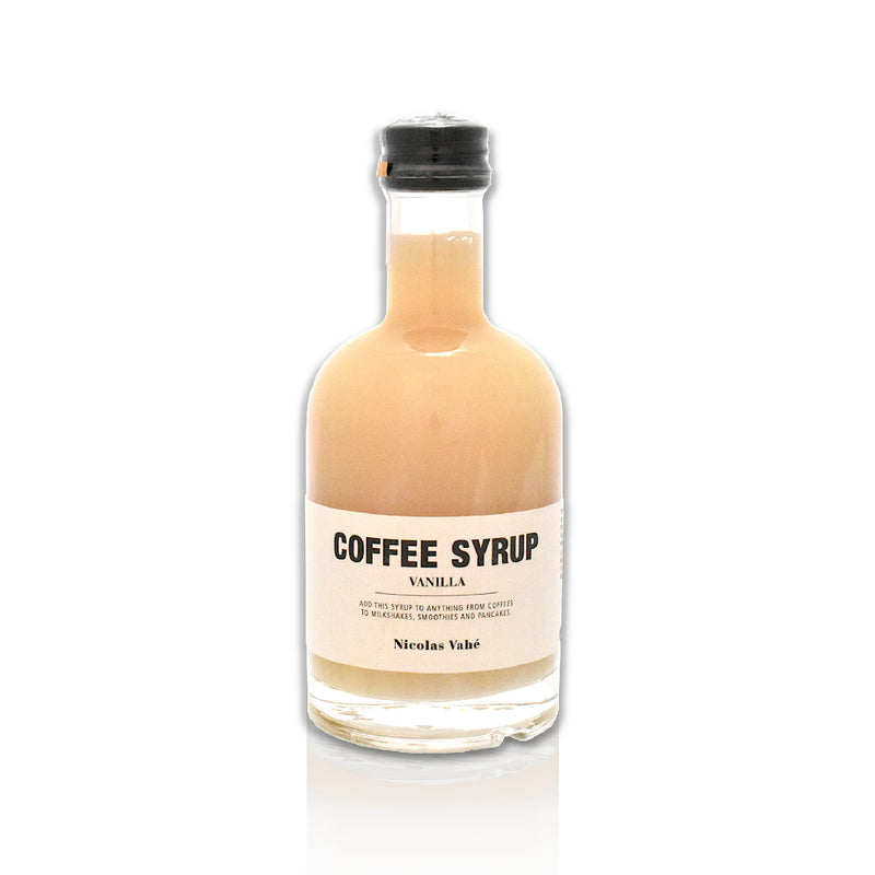 Bottle of Vanilla Coffee Syrup