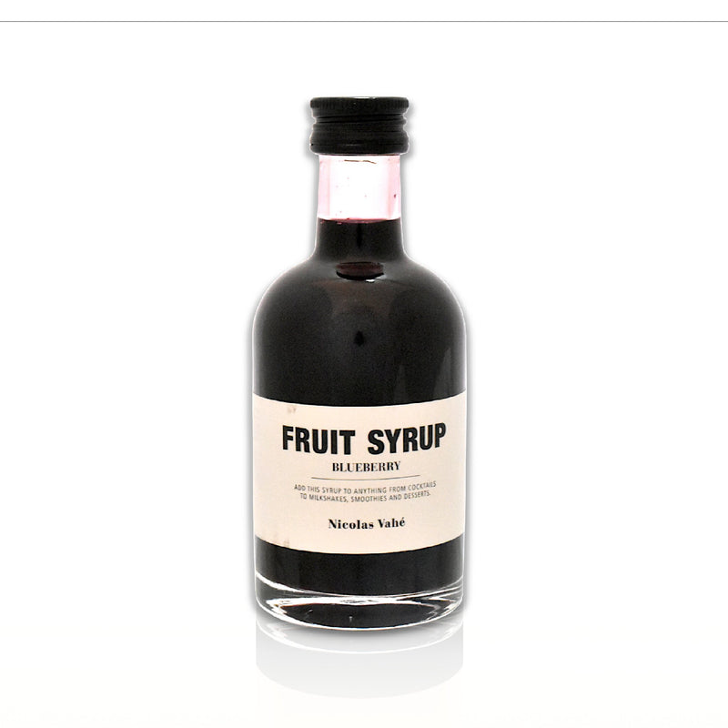 Bottle of blueberry fruit syrup 200ml
