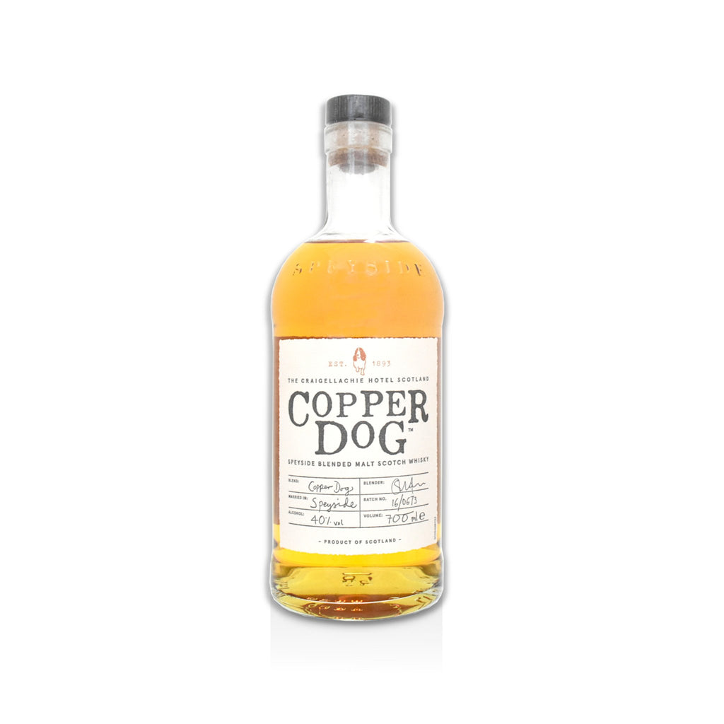 70cl bottle of Copper Dog Scotch whisky