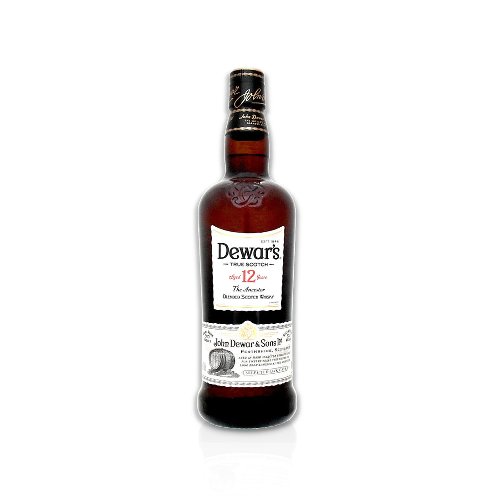70cl bottle of Dewar's 12 year old Scotch whisky