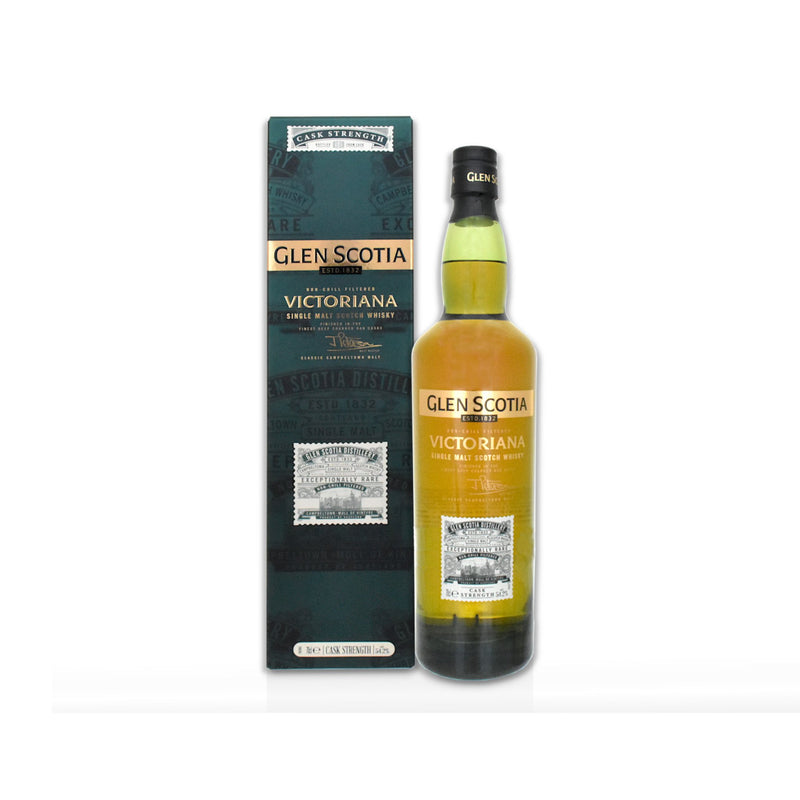 70cl bottle of Glen Scotia Victoriana Scotch whisky