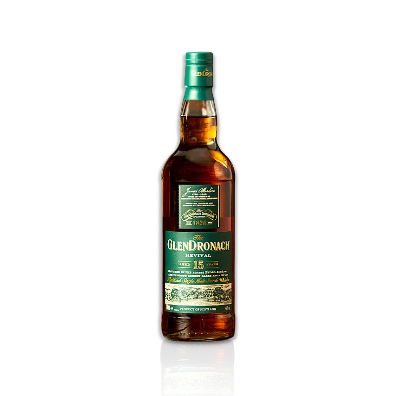 Bottle of Glendronach 18 year old, 70cl