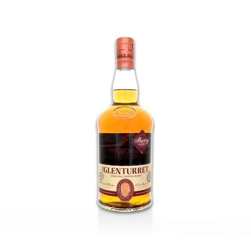 70cl bottle of Glenturret Sherry Scotch whisky