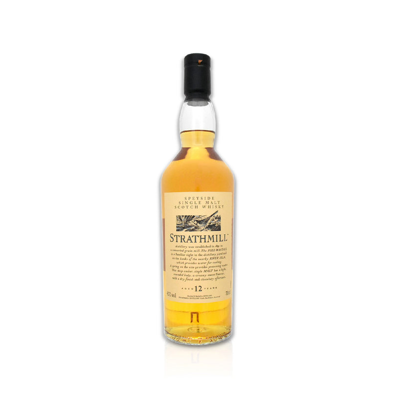 70cl bottle of Strathmill flora and fauna Scotch whisky