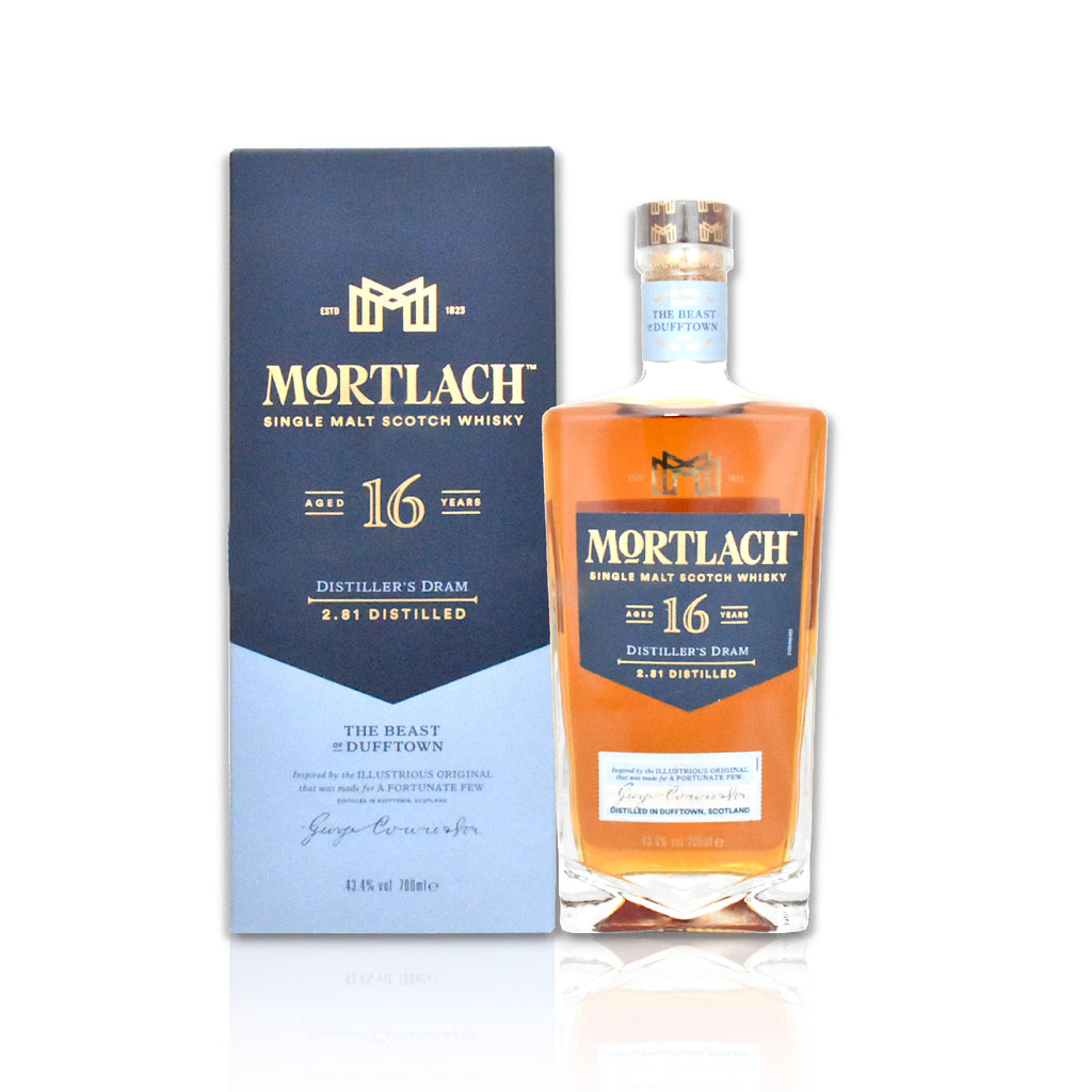 Bottle of Mortlach 16 year old, 70cl