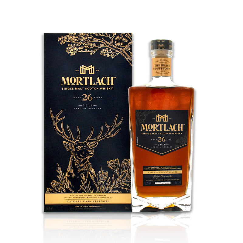 Bottle of Mortlach 26 year old 70cl