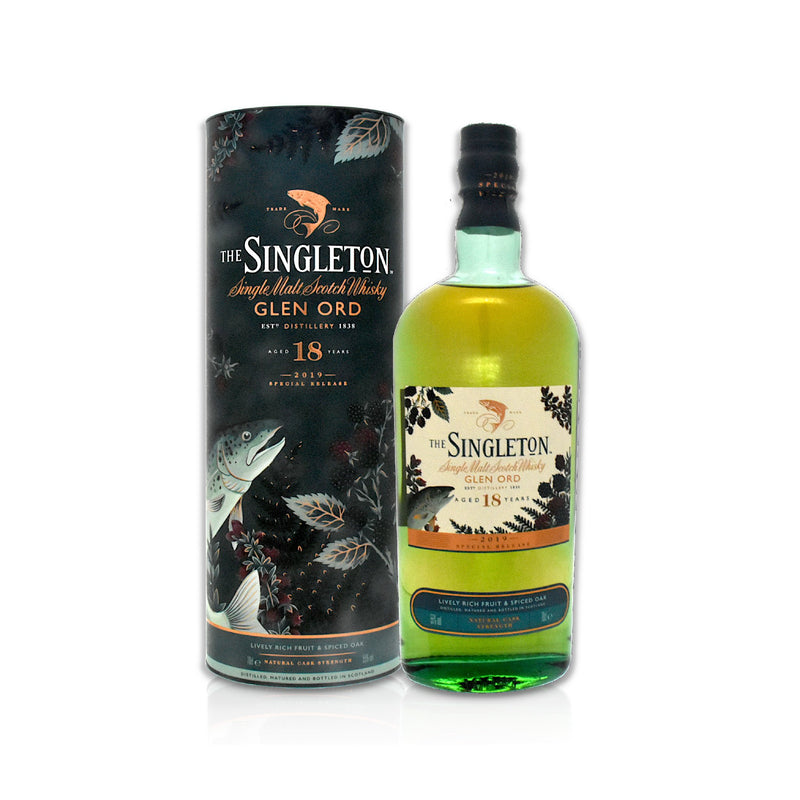 Bottle of Singleton of Glen Ord 18 year old 70cl