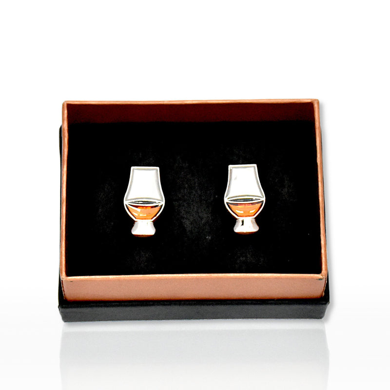 Glencairn glass emblem cufflinks