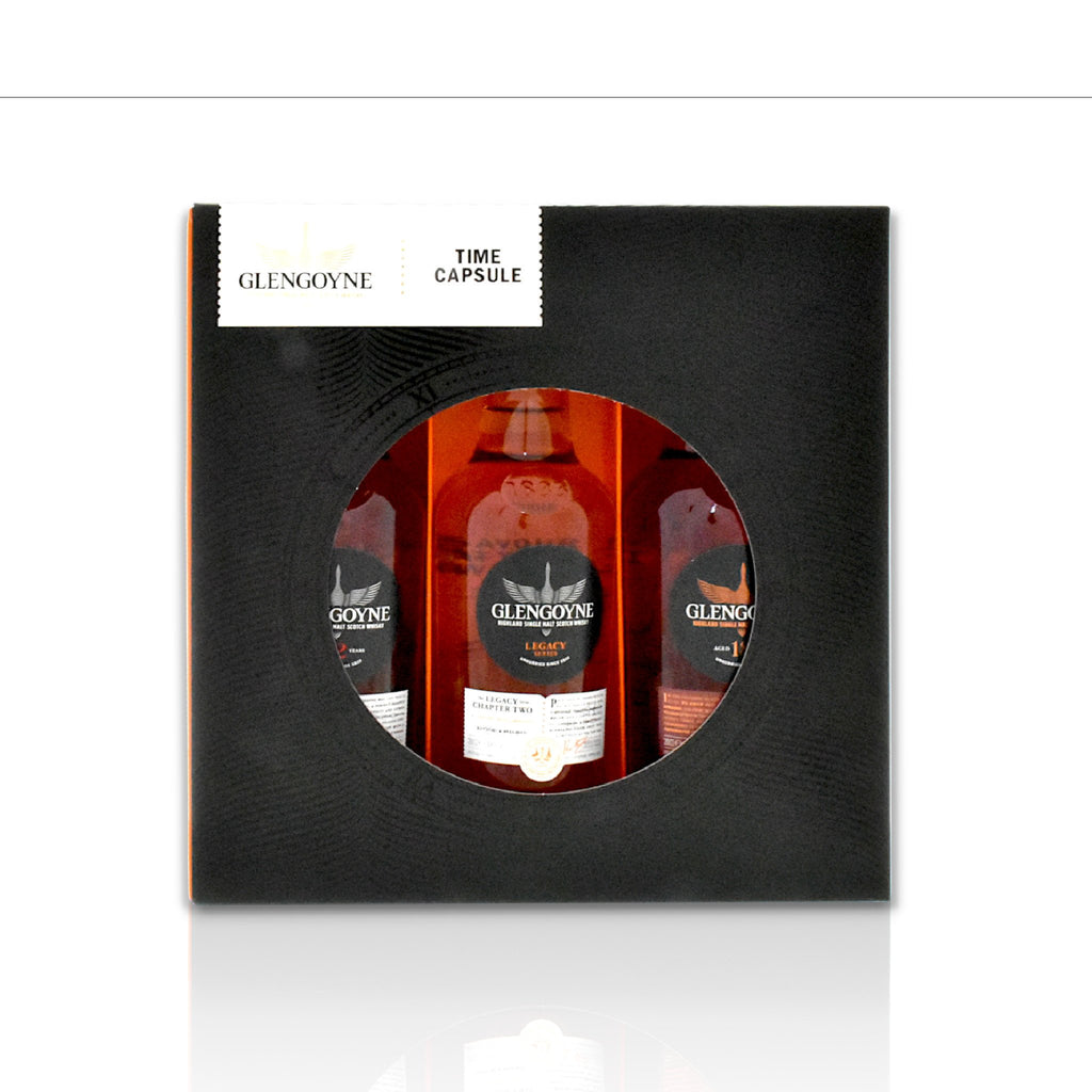 Glengoyne whisky gift pack 3x20cl bottles