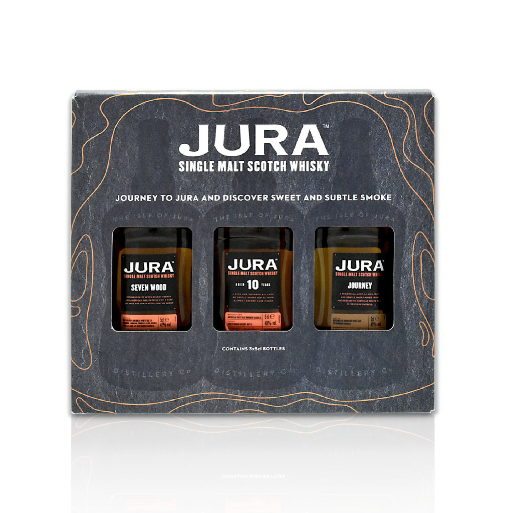Jura Miniature Gift pack 3x 5cl bottles