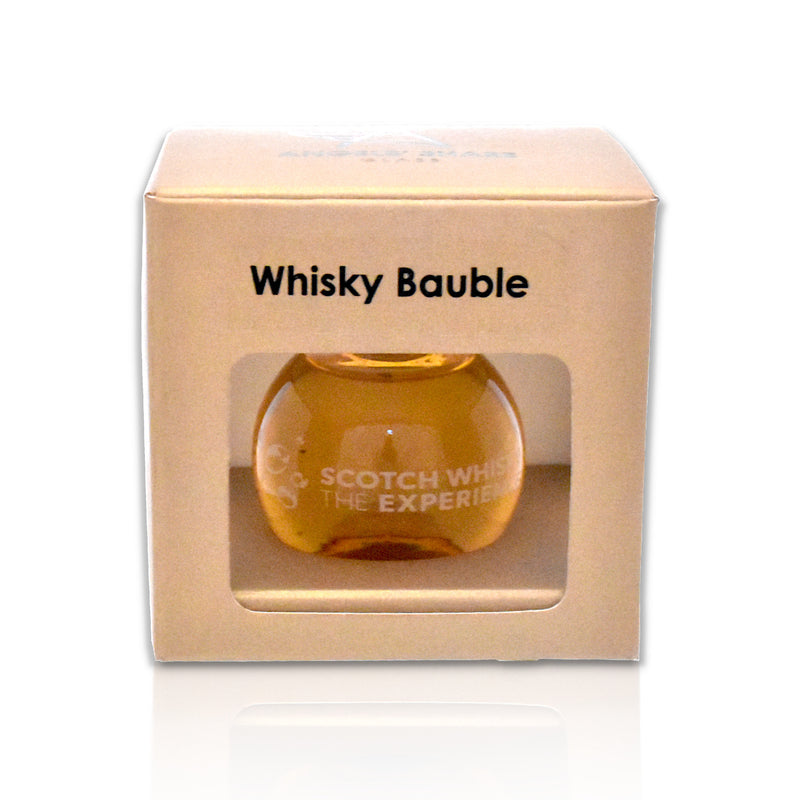 Angels' Share Glass Whisky Bauble