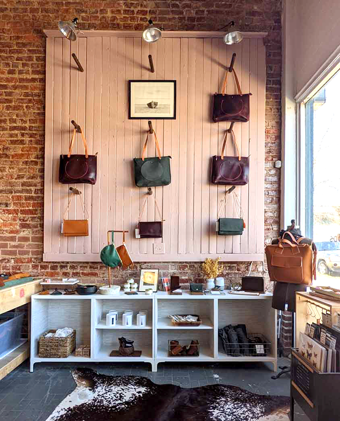 Awl Snap Leather Goods Retail Shop