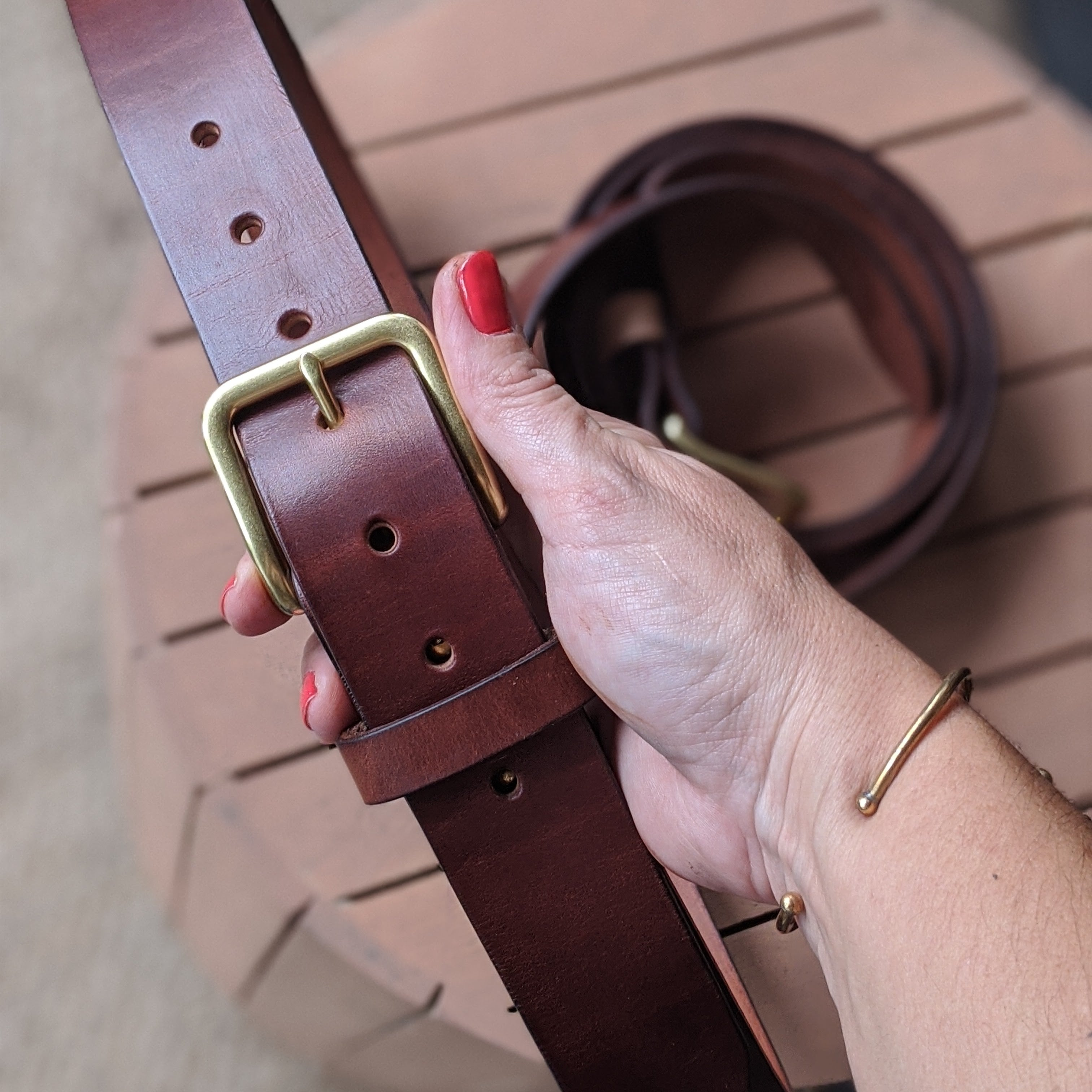 Handcrafted Belt - Limited Edition