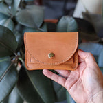 Load image into Gallery viewer, Murphy Snap Wallet - Caramel Tan