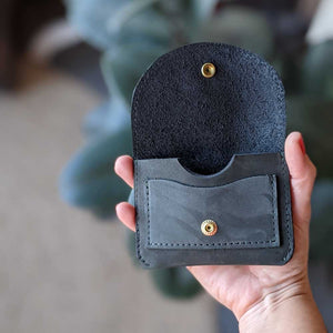 Murphy Snap Wallet in Smokey Teal