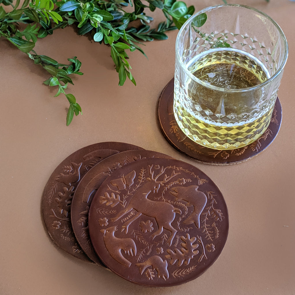 Coaster Set: Limited Edition Collaboration with Morris + Norris