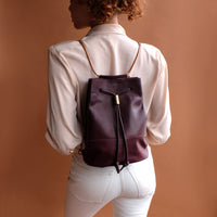 Lagoa Backpack in Burgundy