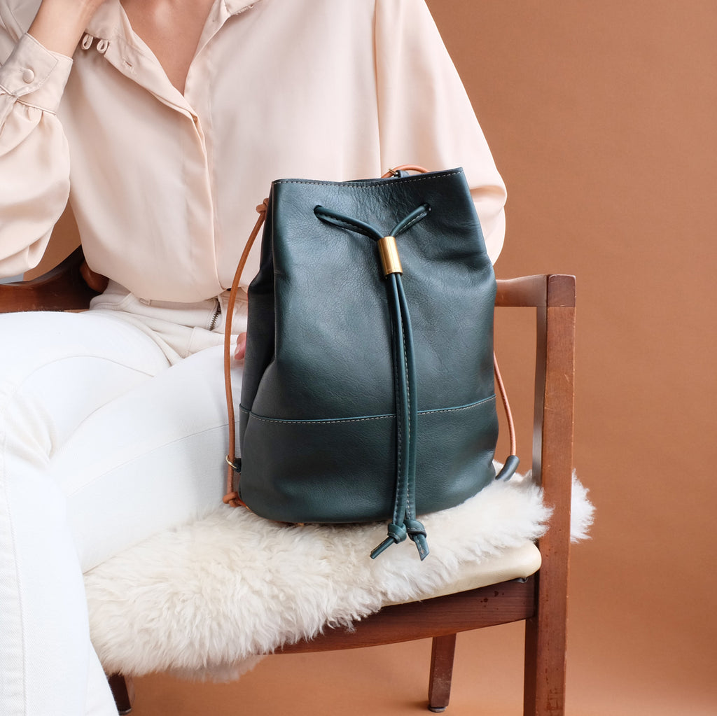 Lagoa Backpack in Forest Green