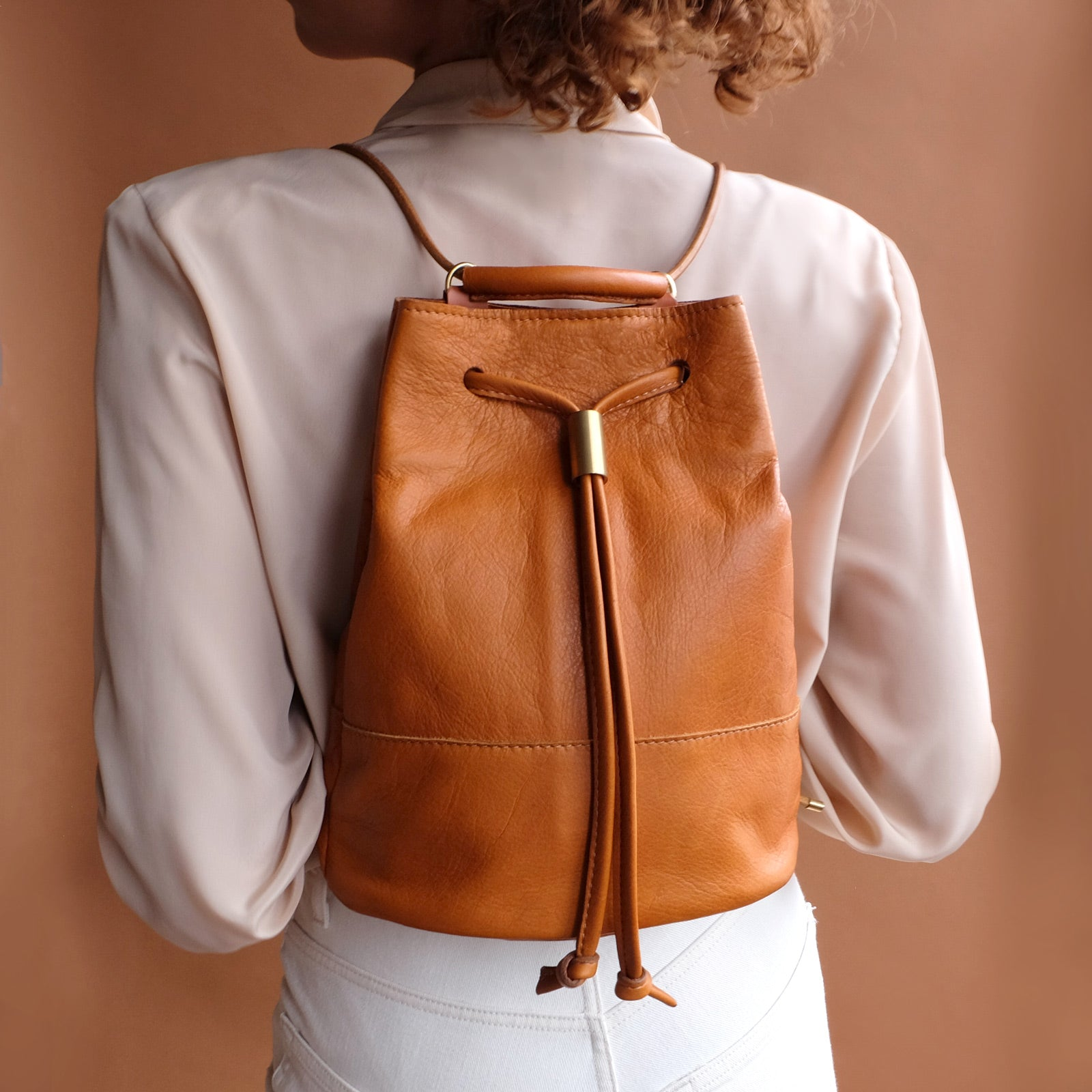 Lagoa Backpack - Caramel Tan