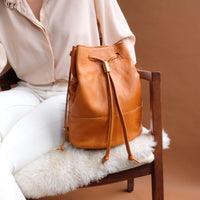 Lagoa Backpack in Caramel Tan