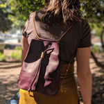Load image into Gallery viewer, Lagoa Backpack - Burgundy