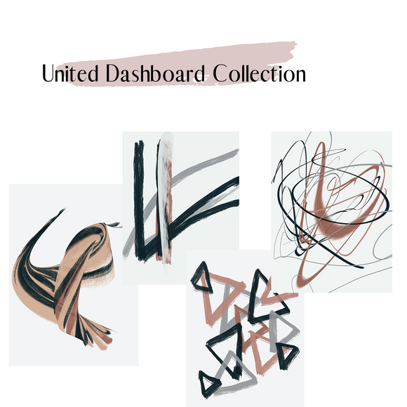 United dashboard set