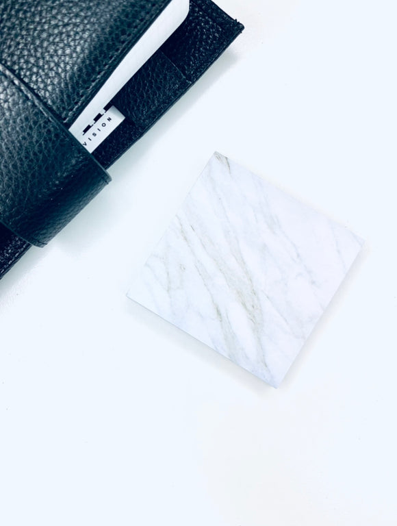 Marble Square Sticky Notes