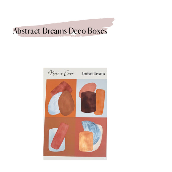 Abstract Deco boxes, Abstract Dreams