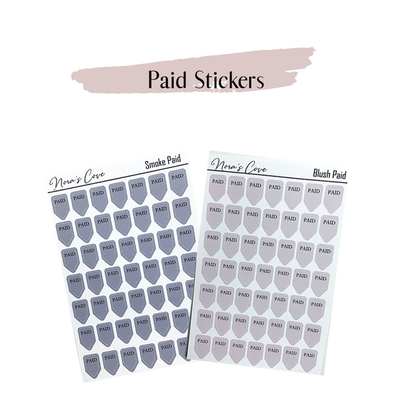Paid Stickers