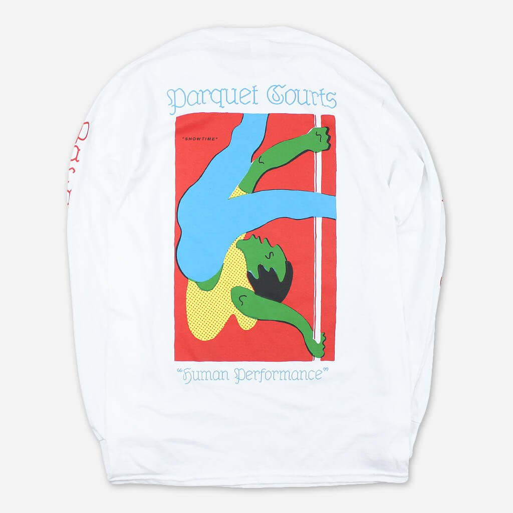 Showtime White Long Sleeve T-Shirt