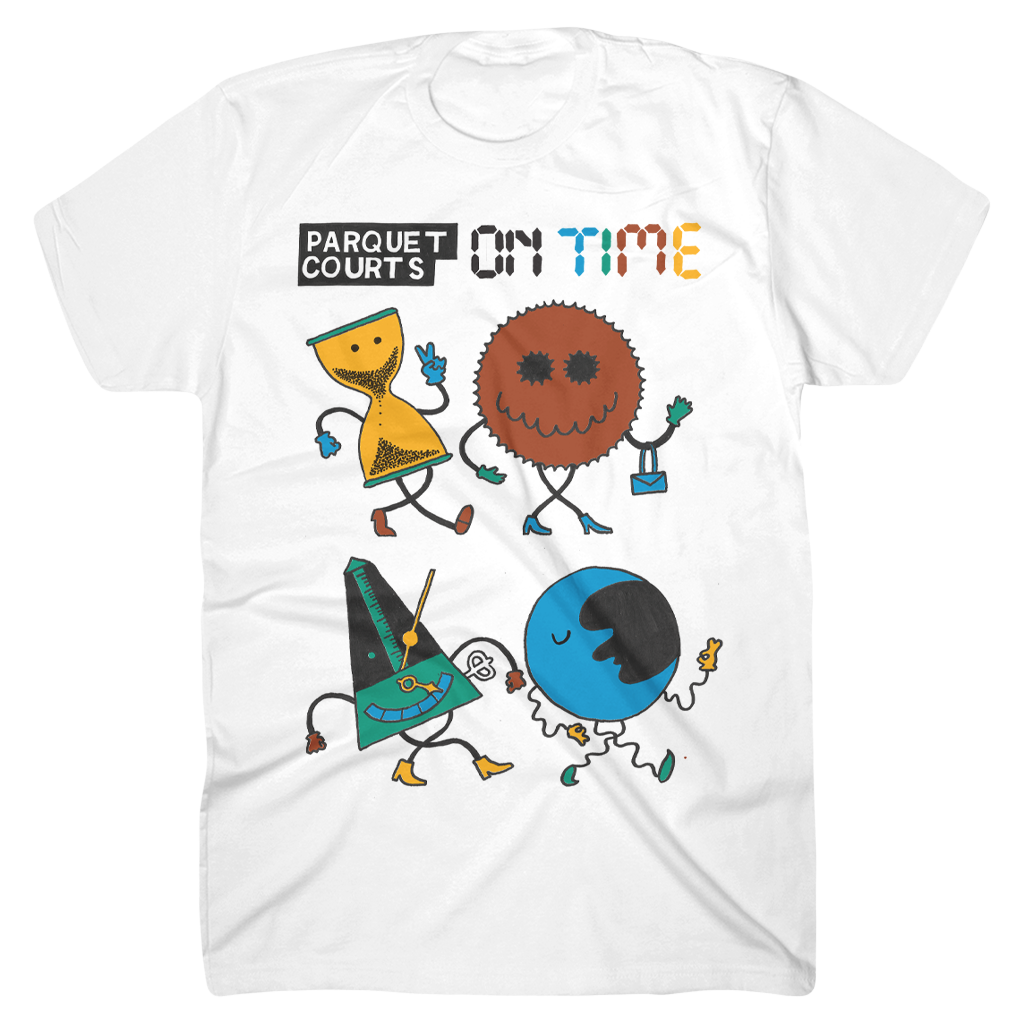 On Time White T-Shirt