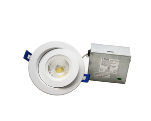 LED Gimbal Recessed Light 4""
