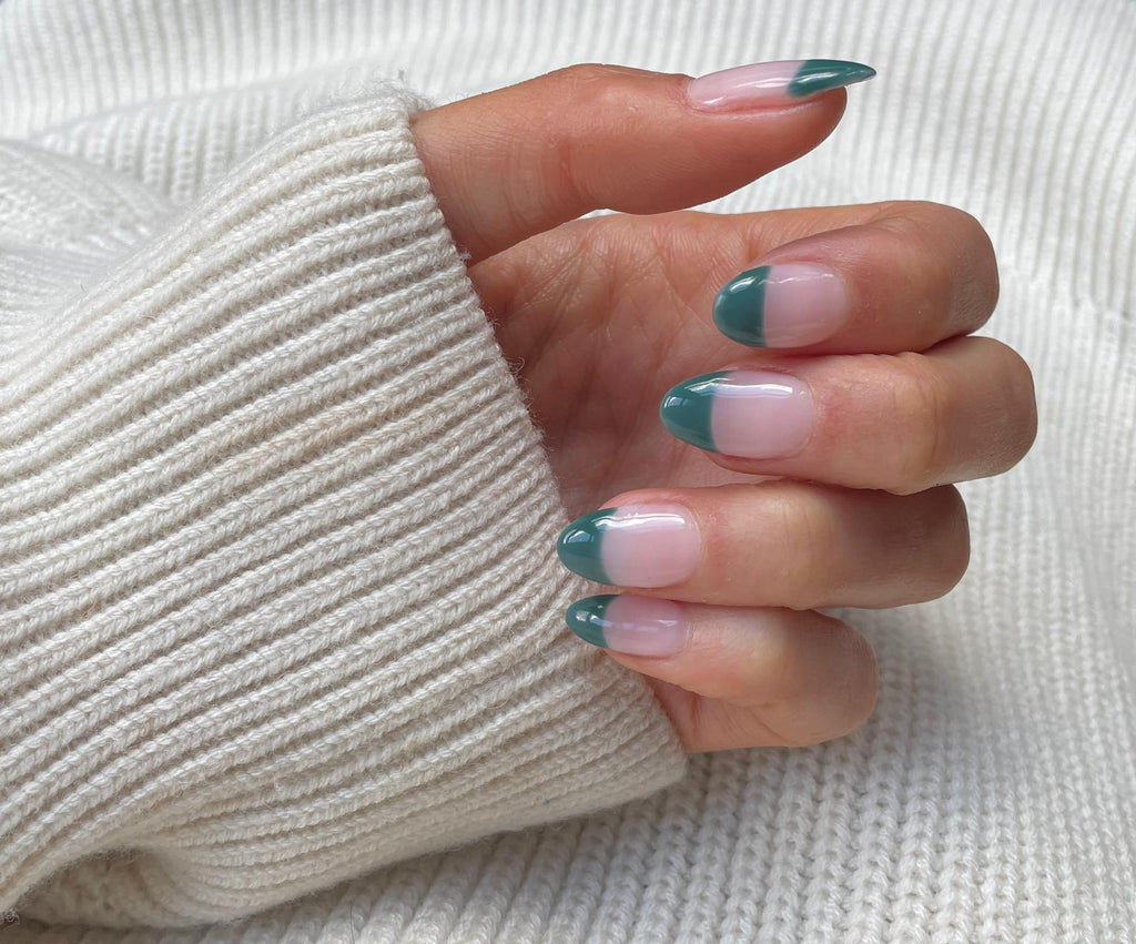 spring-nail-trends-duck-and-dry-nails-new-french-manicure-green-tips