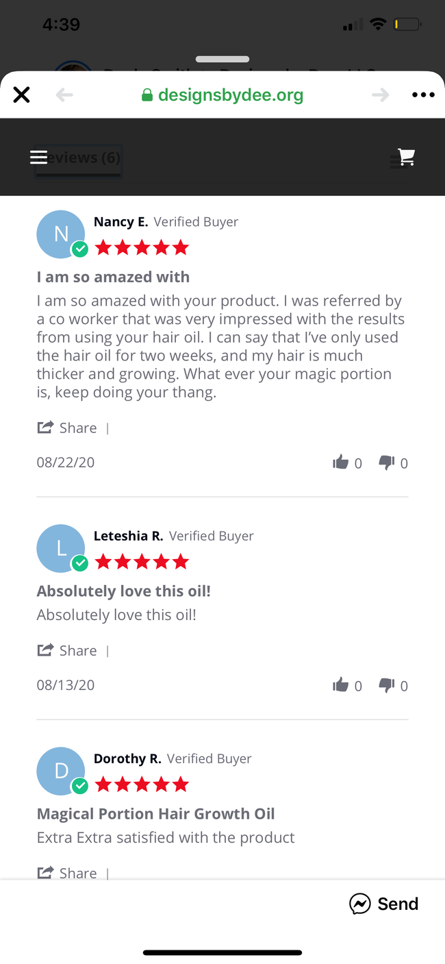 The Magical Potion Hair Growth Serum
