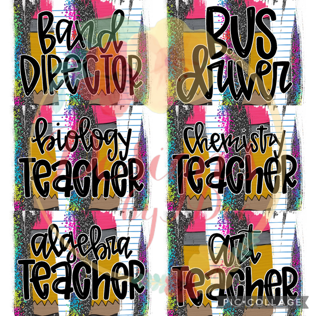 Teacher Brushstroke