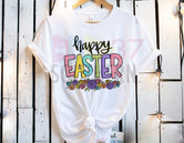 Happy Easter Roses Tee