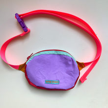 Load image into Gallery viewer, LESS BS BAG - VIOLET/ RED