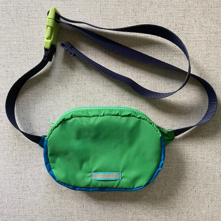 LESS BS BAG - GREEN/BLUE