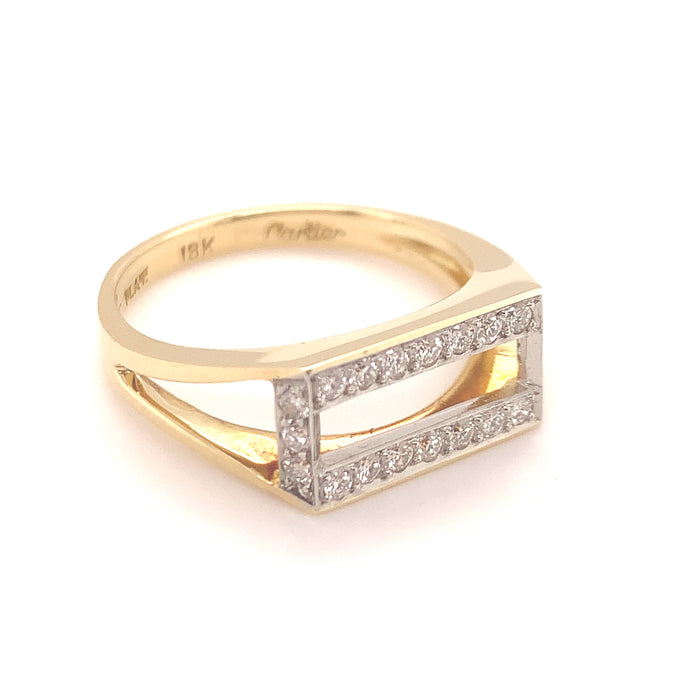 Cartier New York 1970s Ring